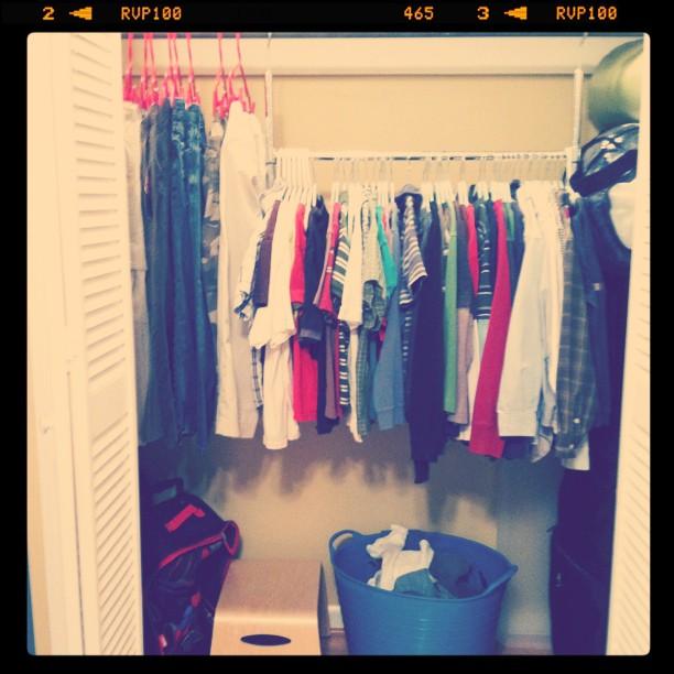 laundry jackson's closet