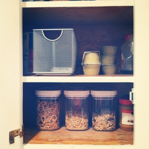Containers In The Kitchen