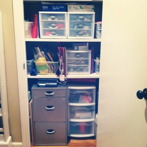 The Art of Organizing A Closet