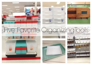 Five On Friday | Five Favorite Organizing Tools