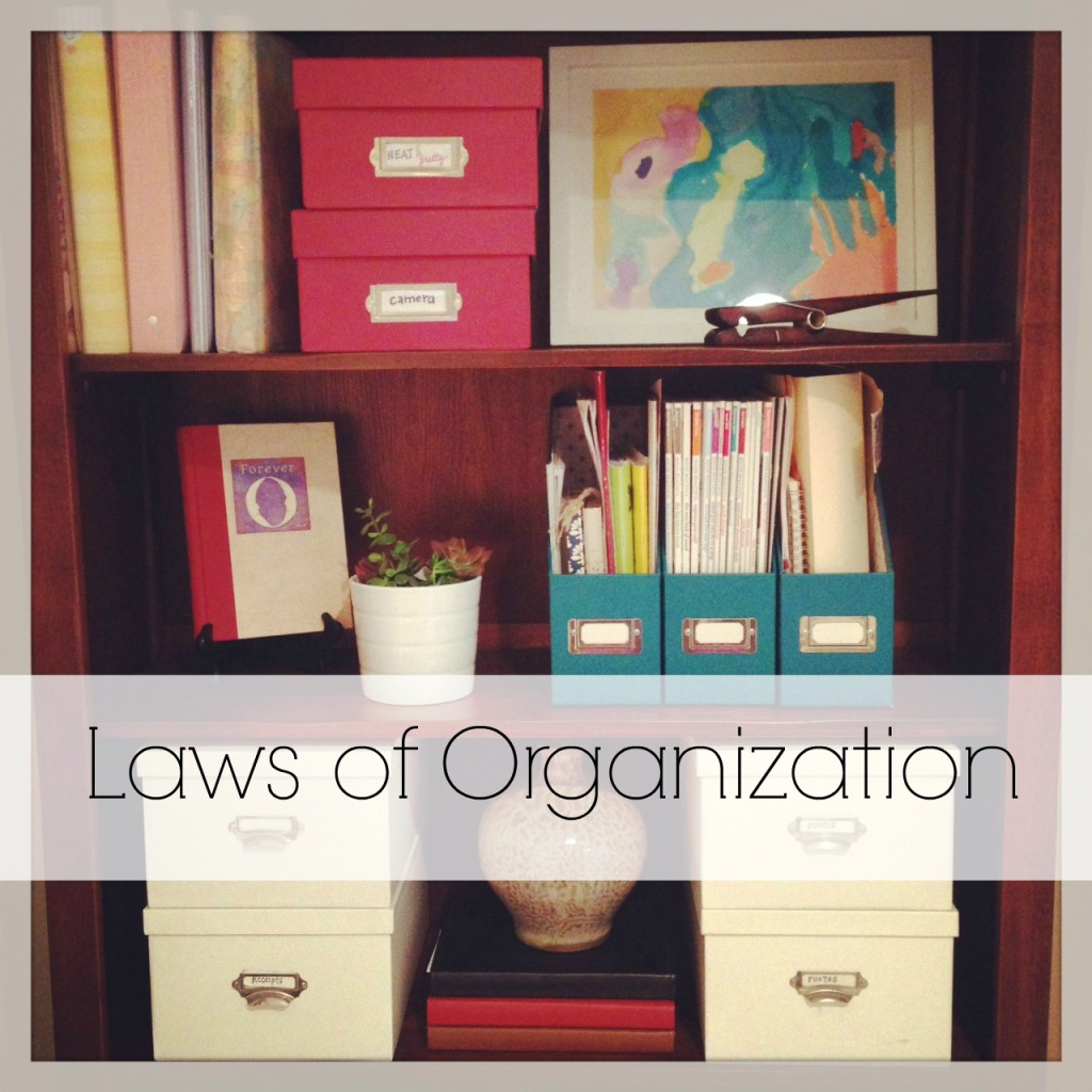 Neat & Pretty | Laws of Organization