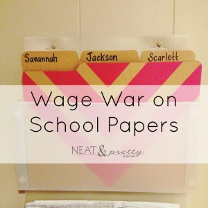 War on School Papers